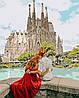Картина по номерам Романтическая Испания 40*50см КНО4689 Раскраска по цифрам, фото 2