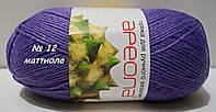 Нитки пряжа для вязания акриловая Ареола № 12  -  МАТТИОЛА