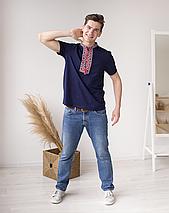 Вышивка на мужских футболках, фото 2