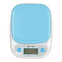 Весы кухонные со съемной чашей SH-125 7 кг., весы для кухни электронные, весы кухонные на 7 кг, кухонні ваги