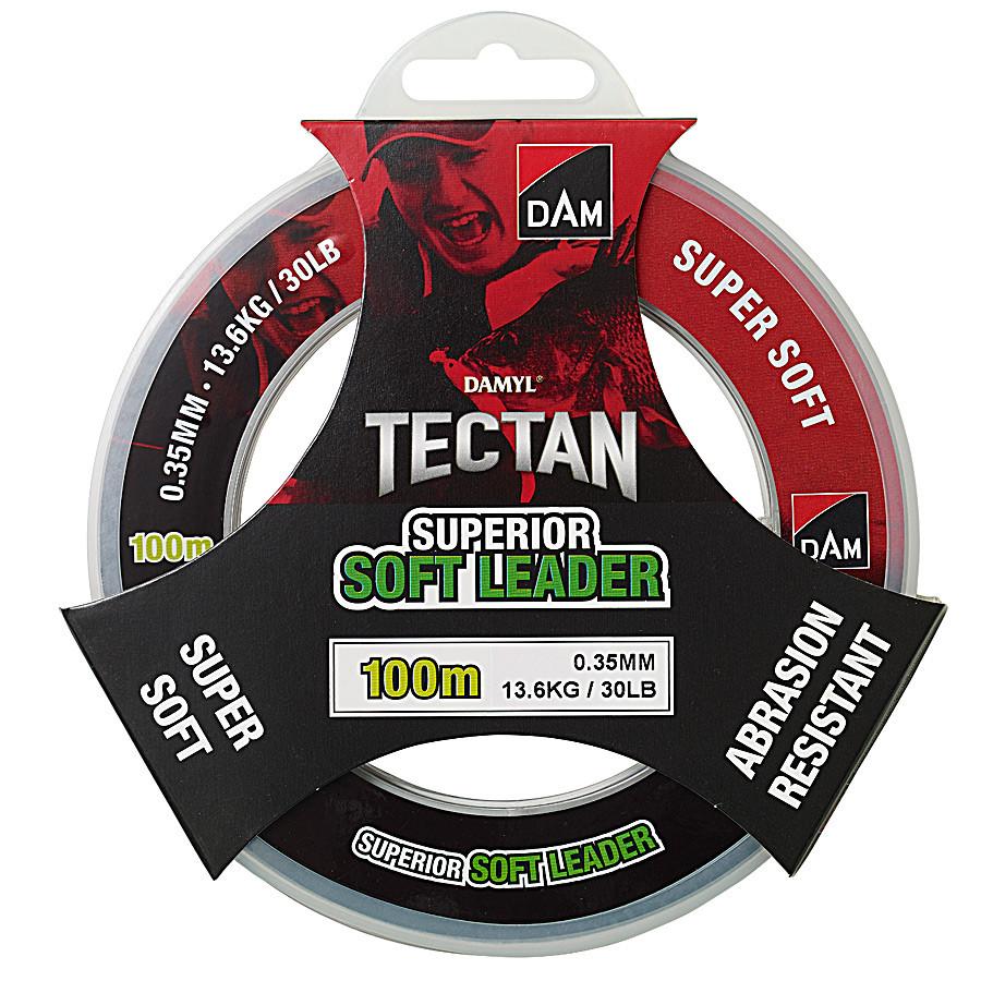 Поводочный материал DAM DAMYL Tectan Superior Soft Leader 100M/0.35MM/13.6KG (низкая память)