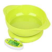 Весы кухонные со съемной чашей CH-303A 5 кг., весы для кухни электронные, кухонні ваги, весы для еды