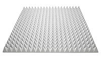 Акустический поролон Ecosound пирамида 70мм 1м х 1м серый, фото 1