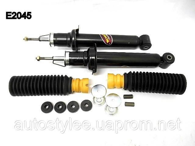 Амортизатор газовый, задний  ВАЗ 110,111,112 (К-т 2 шт +пыльники отбойники) (Monroe E2045)