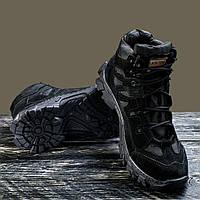 """Ботинки, полуботинки """"Ukr-Tec"""" чёрный 35-48 размеры."""