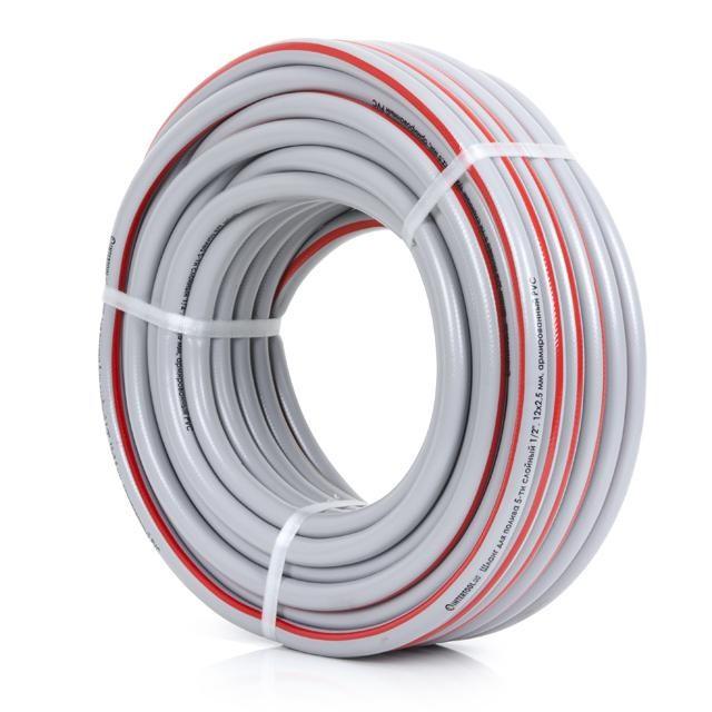 Шланг для полива 5-ти слойный 1/2, 30м, армированный PVC INTERTOOL GE-4133