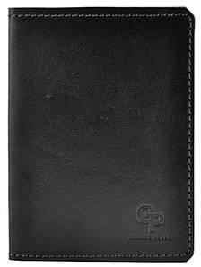 Обложка на парсорта кожаная Grande Pelle Gloss черная