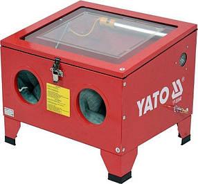 Пневматическая пескоструйная камера 90Л YT-55840 YATO