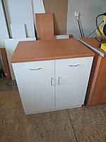Тумба стол кухонная 80 см белая