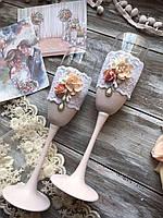 Свадебные бокалы, фото 1