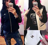 Женская короткая куртка из кашемира, фото 1