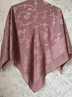 Платок шелковый с ажурным рисунком (100 х 100 см )