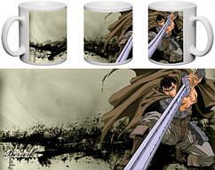Кружка чашка  Berserk - Гатс