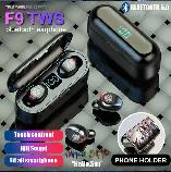Беспроводные наушники F9 сенсорные HD Stereo Heavy Bass, фото 2