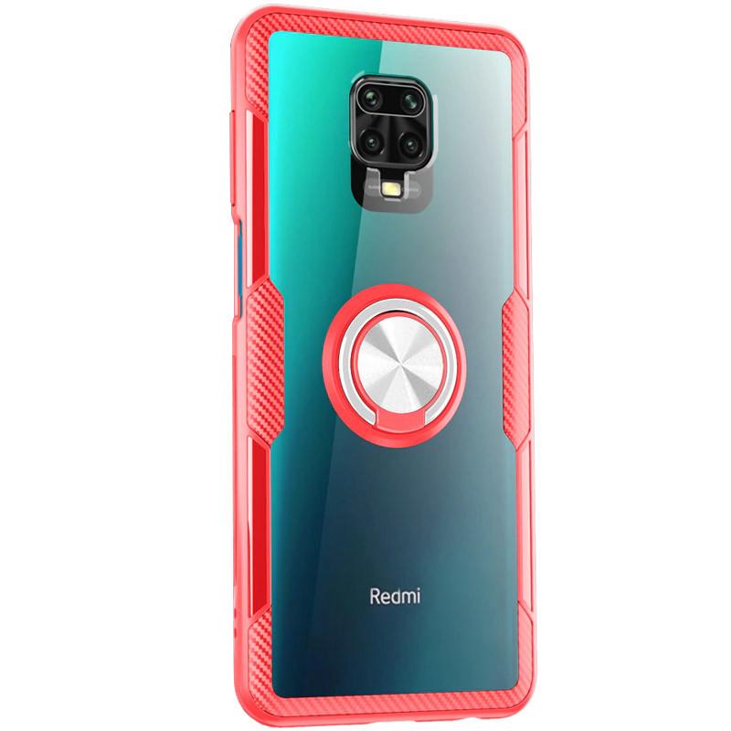 Ударопрочный  чехол Deen CrystalRing под магнитный держатель для Xiaomi Redmi Note 9s / Note 9 Pro
