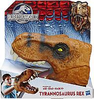 Игрушка Голова Тираннозавра Рекса Jurassic World Chomping Tyrannosaurus Rex Head Hasbro B1511