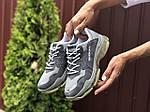 Жіночі кросівки Balenciaga (сірі) 9502, фото 3