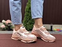 Женские кроссовки Balenciaga (пудровые) 9503