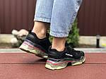 Женские кроссовки Balenciaga (черно-бежевые) 9504, фото 2