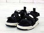 Мужские летние сандалии New Balance (черные) 11900, фото 5