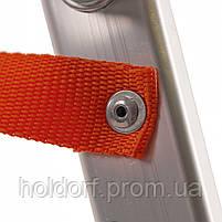 Стремянка алюминиевая Laddermaster Alcor A1A8. 8 ступенек, фото 6