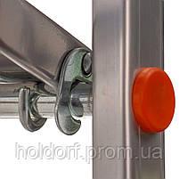 Стремянка алюминиевая Laddermaster Alcor A1A8. 8 ступенек, фото 7