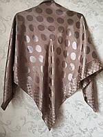 Платок с шелковой вышивкой ( 100 х 100 см.)