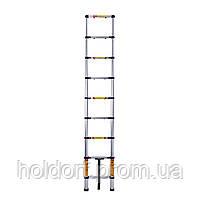 Лестница телескопическая алюминиевая Laddermaster Avior A7A8. 8 ступенек, фото 2