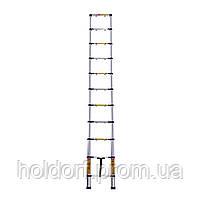 Лестница телескопическая алюминиевая Laddermaster Avior A7A10. 10 ступенек, фото 2