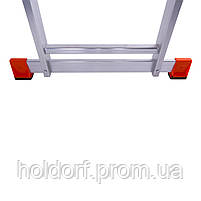 Лестница двухсекционная алюминиевая Laddermaster Sirius A2A6. 2x6 ступенек, фото 2