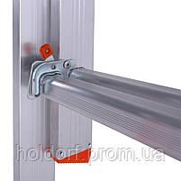 Лестница двухсекционная алюминиевая Laddermaster Sirius A2A6. 2x6 ступенек, фото 4