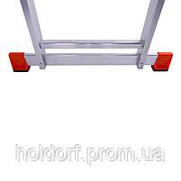 Лестница трехсекционная алюминиевая Laddermaster Sirius A3A10. 3x10 ступенек, фото 7