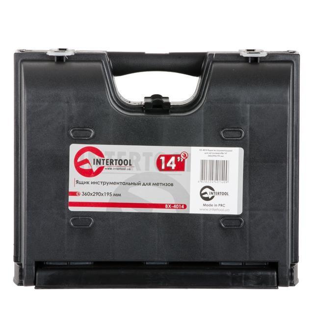 Ящик инструментальный для метизов, 14 360x290x195 мм INTERTOOL BX-4014