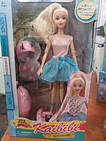 Лялька BLD203 шарнірна, сігвей, шолом, їздить, 2 види, світло, бат., кор., 21-36-10 см.