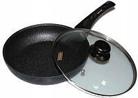 Алюминиевая сковорода с антипригарным покрытием Frying Pan Wimpex WX2405 (Teflon) 24 см Лучшая цена