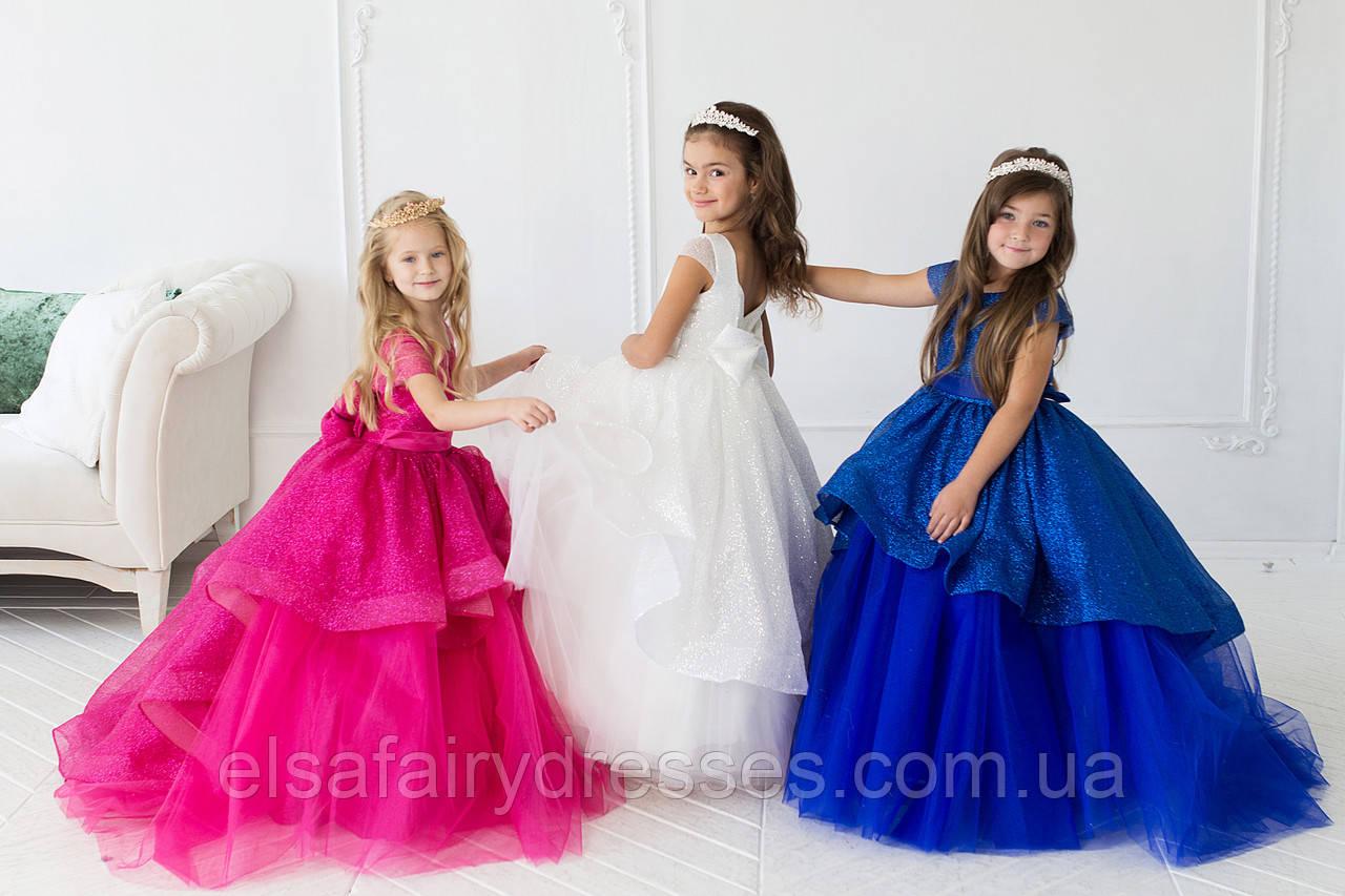 "Модель ""БЕТСІ"" - дитяча сукня / пышное платье со шлейфом"