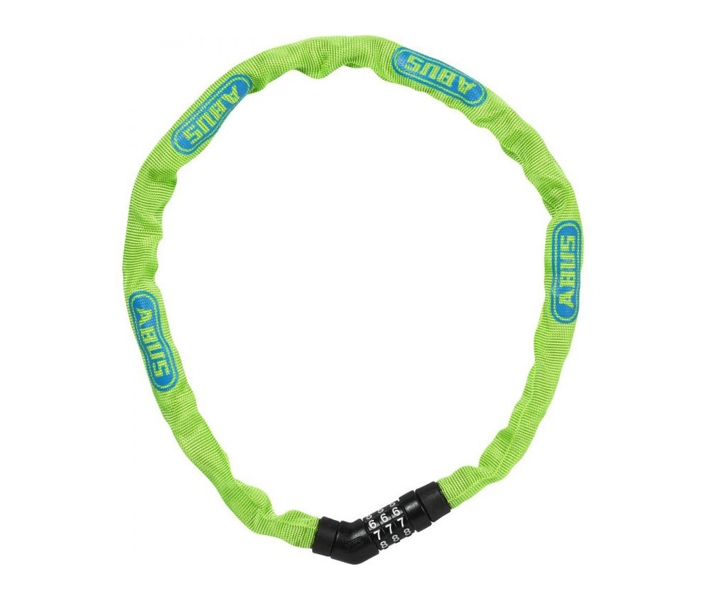 Велозамок ABUS 4804C/75 Steel-O-Chain Lime (724800)
