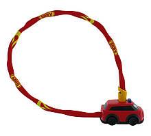 Велозамок ABUS 1510/60 Fire Departament Red (780998)