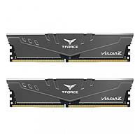 Оперативна память TEAM 16 GB (2x8GB) DDR4 2666 MHz T-Force Vulcan Z Gray (TLZGD416G2666HC18HDC01)