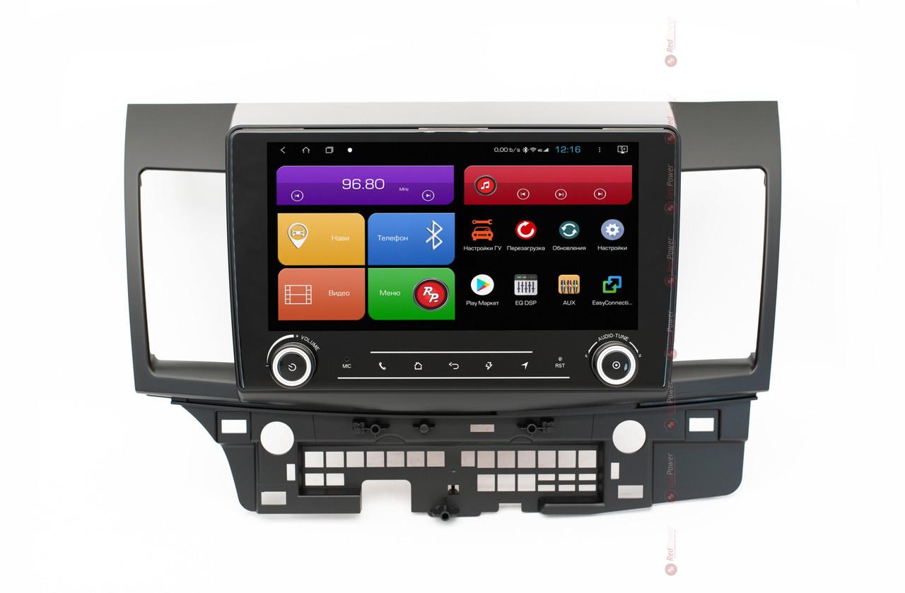 Штатное головное устройство для Mitsubishi Lancer на Android 8+ RedPower 51037 RK IPS DSP