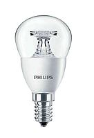 Лампа светодиодная LED 5,5 - 40W E14 2700К Р45 (шар) CL PHILIPS