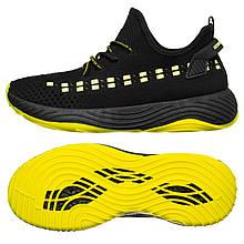Чоловічі кросівки Marlen 45 Black-Yellow (M03_45)