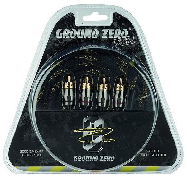 Межблочный  кабель GROUND ZERO GZCC 5.49X-TP