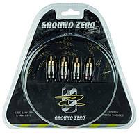 Межблочный  кабель GROUND ZERO GZCC 5.49X-TP, фото 1