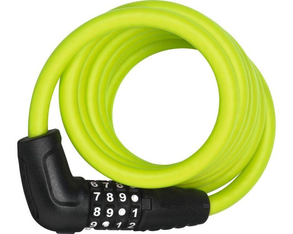 Велозамок ABUS 5510C/180 Numero SCMU Lime (165627)