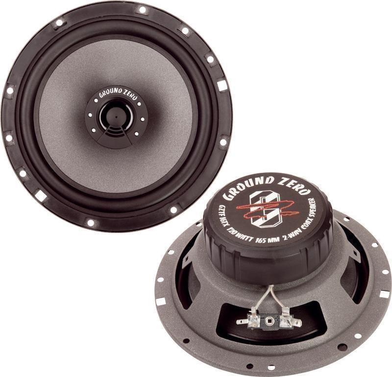 Коаксиальная акустика GROUND ZERO GZTF-16ТХ