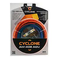 Комплект подключения усилителя Cyclone AW-408 AGU