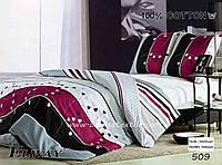 Семейный комплект постельного белья ELWAY 953 сатин