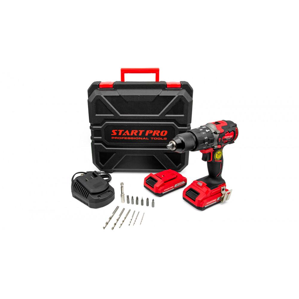 Бесщеточный шуруповерт аккумуляторный Start Pro SCD2-21/2В BRUSHLESS