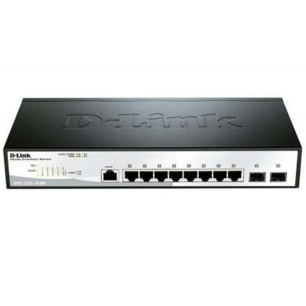 Коммутатор сетевой D-Link DGS-1210-10/ME/A
